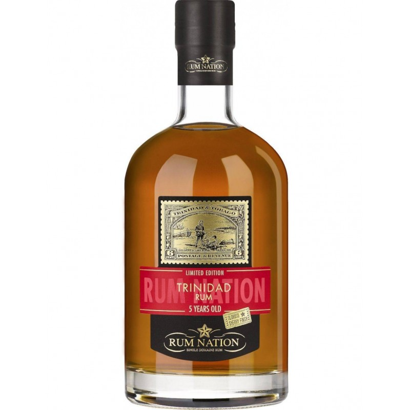 Rum Nation Trinidad 5 yo sherry finish