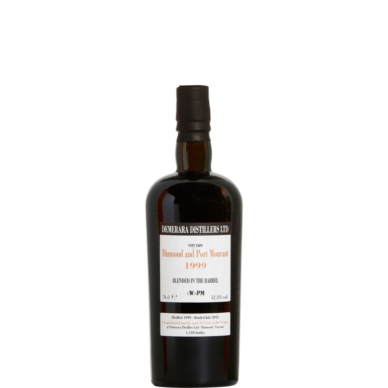 Diamond and Port Mourant 1999 blended in the barrel