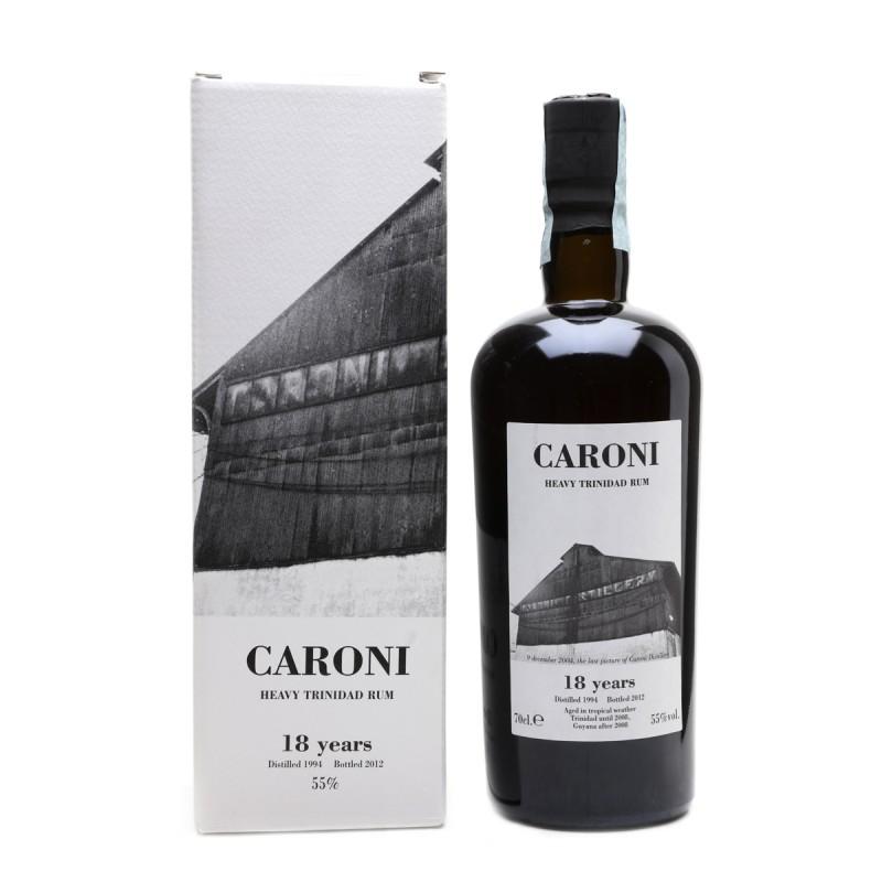 Caroni Heavy Trinidad rum 1994 18 yo - Velier