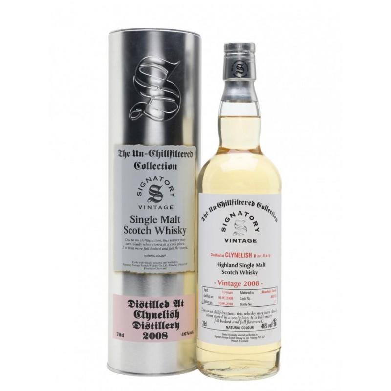 Signatory Clynelish 2008 single malt whisky