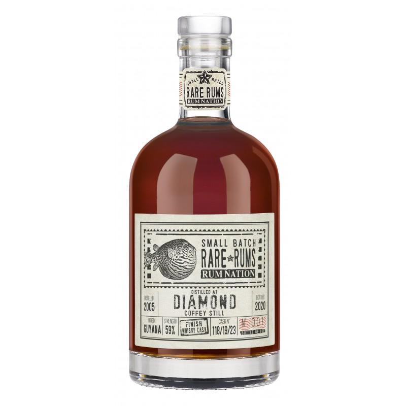 Rare Rums Diamond SV Whisky finish 2005-20