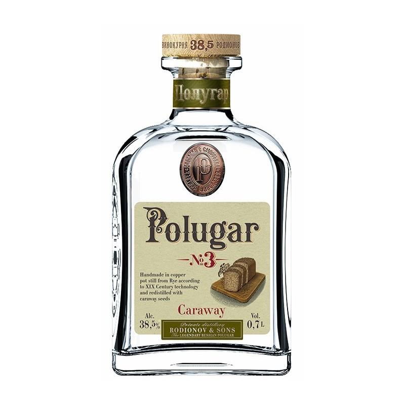 Polugar no 3 Caraway vodka