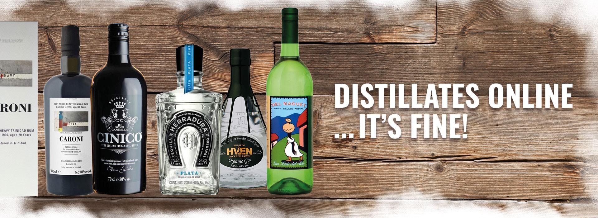 Distillates online... it's fine!